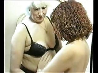Lesbian mature grannies