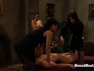 Disappeared On Arrival Putting Slave Mark On Her Pussy