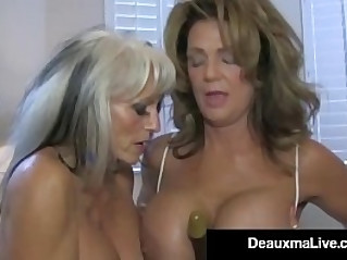 Texas Cougar Deauxma Watches As Sally Bangs Hubby!
