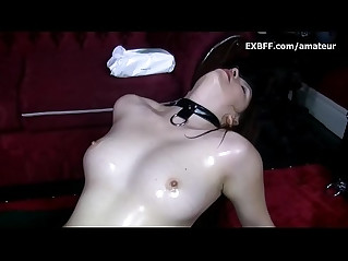 Hairy girl pussy fem domination by Asian lesbian