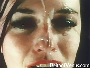 Vintage French POV Porn Double Blowjob and Fuck