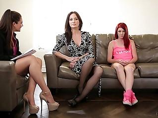 The family therapist elle alexandra allie haze angela sommers