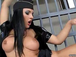 Horny Police Lesbians eating Pussy